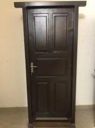 Brown Powder Coated Steel Doors, Single