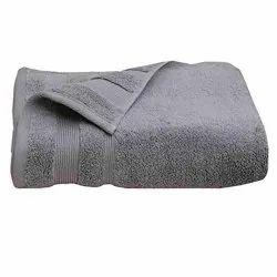 Femesta Cotton Grey Plain Bathroom Towel, Size: 30 X 60 Inches
