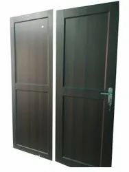 Hinged Brown 6x2 Feet PVC Door, For Home, Interior