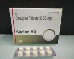 Clozapine Tablets  IP 50 MG.