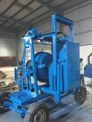 Concrete Mixer With Lift System