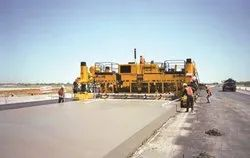 Slip Form Concrete Road Paver
