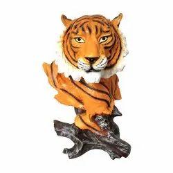 Resin Wild Animals Head Statue Figurine Decorative Showpiece