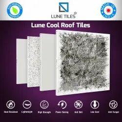 Solar Reflective Cool Roof Tiles