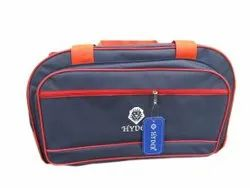 Blue Polyester HYDER Zipper Luggage Bag, For Travelling