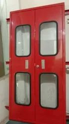Red Iron MS Door, For Commercial, Thickness: 1.4