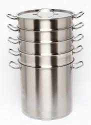 Stainless Steel 4-Tier Steamer