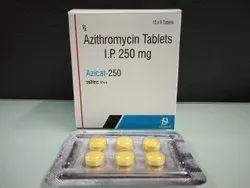 Azicat 250 Azithromycin Tablets IP 250 mg