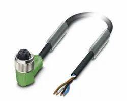 1693526-SAC-4P-3,0-PVC/M12FR Pheonix Connector Cable