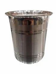 150ml Silver Glass, Packaging Type: Velvet Box, Size: 3.5 Inch (h)