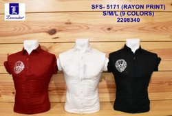 Rayon Printed Shirt
