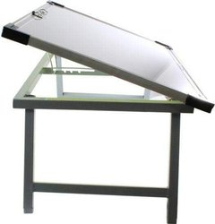 Foldable White Board Table