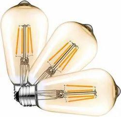 Image Aluminum Edison Filament LED Bulb