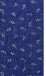 Seiko Textiles Blue 60 Lea Printed Linen Fabric, GSM: 150 GSM