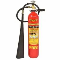 CO2 Based Mild Steel FIRE EXTINGUISHERS, For Industrial Use, Capacity: 4 Kg