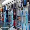Sports Showroom Interior Designing