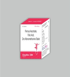 Ferrous Ascorbate Folic Acid Zinc Monomethionine Tablet