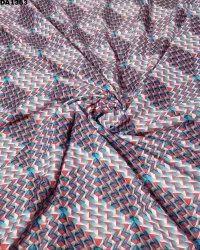 Amazing Design 6mm Checks Silk Digital Print Fabric