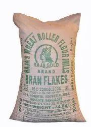 Raja Gold Wheat Bran Flakes, 34kg Bag, Packaging Type: Plastic Gunny