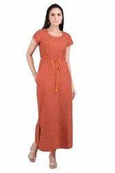 Cotton Flex Pocket Maxi Dress