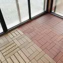 WPC Interlock Floor Tiles DIY
