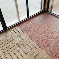 WPC Interlock Floor Tiles DIY