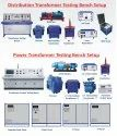 Common Test Panel For Distribution & Power Transformers