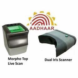 Aadhar Based Biometric Device