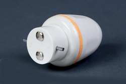 Plastic Single Adaptor, For Electrical Fitting, 0309