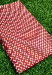 Printed Red Cotton Fabric