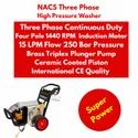 Industrial High Pressure Cleaner Three Phase