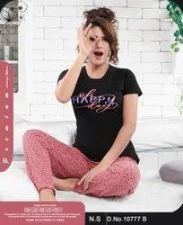 Cotton MIX Ladies Nightwear, Age Group: 18 Plus