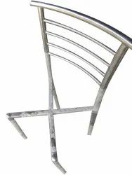 Silver Modern Stainless Steel Chair Frame