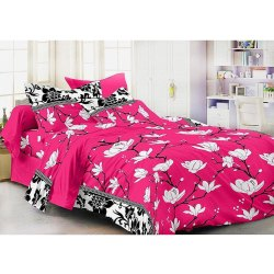 Incense Album Pink Bedsheet Set