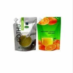 Juice & Tea Packaging Spout Pouch