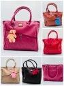 HEAVY QUALITY SNT NATIONAL LADIES HAND BAG WITH SUPERIOR QUALITY COLOURED ATTRACTIVE DESIGNS-SNT-301