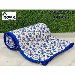 Blue Double Bed AC Dohar Blanket