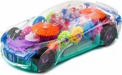 Transparent Plastic Concept Car, For Personal