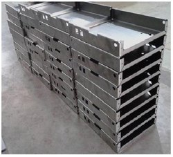Mild Steel CNC Sheet Metal Cutting Fabrication Services