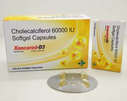 Cholecalciferol Soft Gelatin Capsules ( XONCARED D3 Soft Gelatin Capsules)