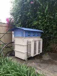 Three Phase Oil Cooled Servo Stabilizer For Hotel/ Resort/ Lodge