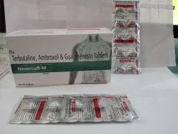 Terbutaline Ambroxol And Guaiphenesin Tablets