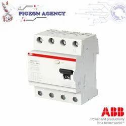 ABB - RCCB - F204 A S-40/0,1 / 4 Pole