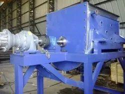 U Through MS,SS Powder Blender Machine, Capacity: 100 Kg- 10000 Kg