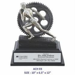Achievers Wheel Trophy