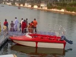 IRS  Approved Speed Boat 6 Seater ( Only Boat)