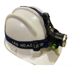 Metal & ABS  Plastic White Headlamp