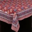 Block Printed Table Cover
