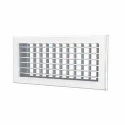 Double Louver AC Grill