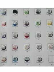 Round Plastic Shirt Button, Packaging Type: Box